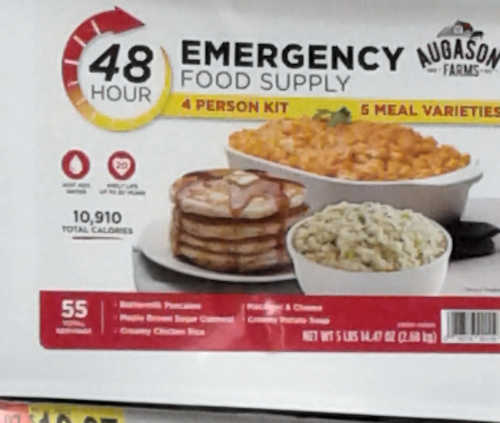48 hour food supply