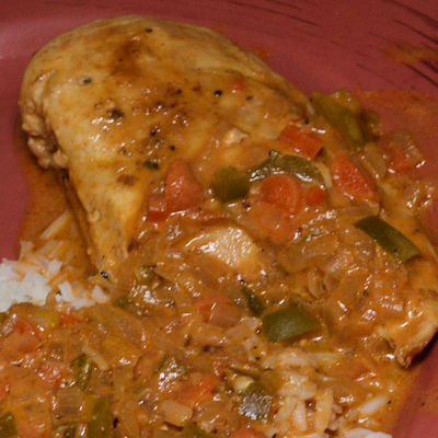 African Peanut Chicken