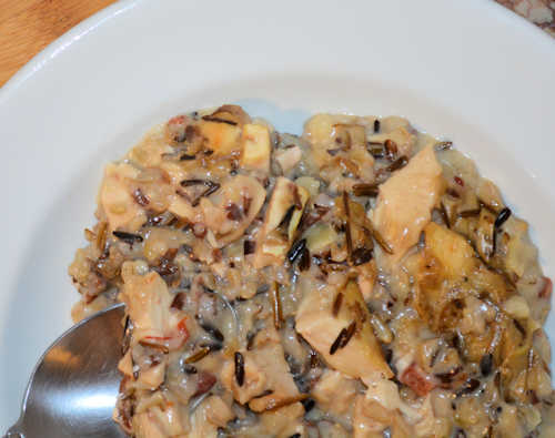 Wild Rice & Chicken Casserole