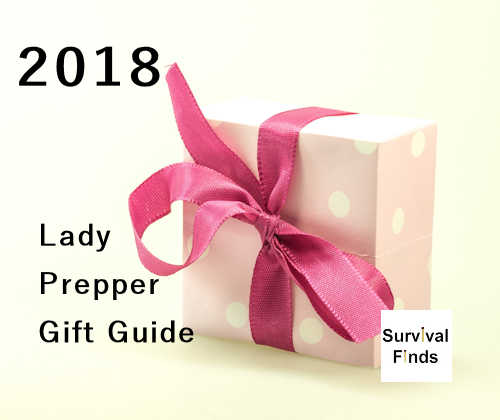 2018 Christmas Gift List for the Lady Prepper