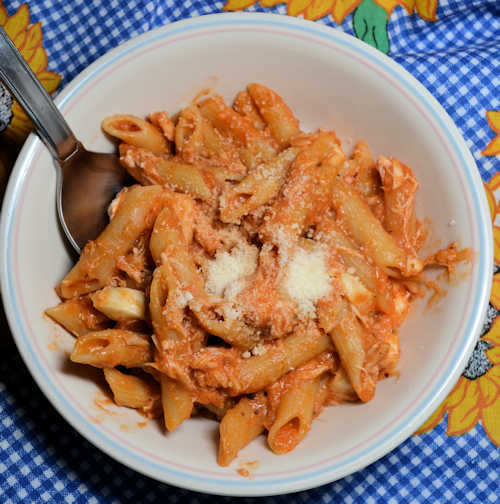 Chicken Pasta ONE SKILLET